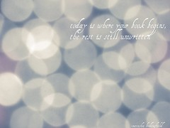 January 14, 2012- 14/365 (leahsheaa) Tags: blue music writing typography photography bokeh song 365 natashabedingfield