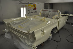 """1957 Ford Thunderbird E Code Dual Quad 312 • <a style=""""font-size:0.8em;"""" href=""""http://www.flickr.com/photos/85572005@N00/6703484075/"""" target=""""_blank"""">View on Flickr</a>"""