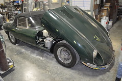 "1966 Jaguar XKE • <a style=""font-size:0.8em;"" href=""http://www.flickr.com/photos/85572005@N00/6704483797/"" target=""_blank"">View on Flickr</a>"