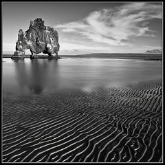 Hvtserkur (Frijfur M.) Tags: sea sky bw mountain seascape reflection beach true clouds canon landscape iceland sand best tokina legacy shining sland vatn sk fjara wow1 wow2 wow3 wow4 sandur speglun fjll littlestories greatphotographers 50d hvitserkur hvtserkur canon50d flickraward picswithsoul excellence2 tokina116 legacyexcellence trolledproud flickraward5 mygearandme mygearandmepremium mygearandmebronze mygearandmesilver mygearandmegold mygearandmeplatinum mygearandmediamond bestofshining flickrstruereflection1 flickrstruereflection2 flickrstruereflection3 flickrstruereflection4 flickrstruereflection5 flickrstruereflection6 flickrstruereflection7 flickrstruereflectionexcellence trueexcellence1 excellence1 trueexcellence2 trueexcellence3