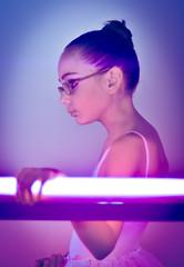 little ballerina (Charlotte2lost) Tags:    ballerina  ballerine       bailarina ballet balerin    baletti    balet balletto   ballett bal  balett  bale   pige meisje girl tytt little mdchen pequea nia  jeune fille   gadis ragazza   jente menina  chica flicka  kz    neon light luz       magenta  roze pink rosa