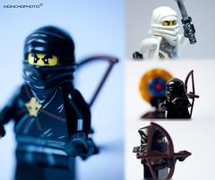 Ninjago Training (Vte.Moncho) Tags: macro toy lego ninja mueco softbox juguete raynox raynoxdcr250 cajadeluz strobish ninjago