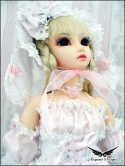 Shiori - Bunny Pink (1000 No Kotoba) Tags: pink bunny photoshoot bjd dollfie luts soony abjd lightbox dollhouse metamorphose gothiclolita btssb angelicpretty