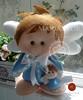 Anjinhos fofos (mariafloratelier2) Tags: cute angel scrapbook lembrança felt feltro anjo mimos batismo lembrançadebatismo