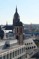 Frankfurt am Main: Dom gesehen von der Hauptwache (Galerie Kaufhof) (Pete Shacky) Tags: panorama skyline germany geotagged deutschland frankfurt frankfurtammain galeriakaufhof ffm dachterrasse dinea geo:lat=5011415490309474 geo:lon=8679670357482387