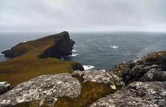 The upward waterfall (supersky77) Tags: winter mist skye scotland waterfall isleofskye wind inverno vento ecosse cascata neist scozia neistpoint pioviggine