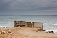 A ruin on the beach