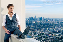 City of Angels (RickrPhoto) Tags: california ca rose skyline losangeles mark rick ii 5d malemodel cityview justintimberlake rickr 85f12lii blinkagain rickrphoto
