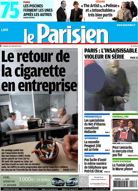 leparisien-cover-2012-01-28