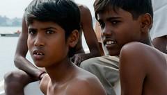 swimming race (akkumar2) Tags: india festival kids south pongal kolam rangoli sulur