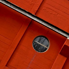 orange wall (estiu87) Tags: glass reflections arquitectura cement minimal metall beton fassade ciment abstrac reflexes vidres urbandetails archshot grfic fassana