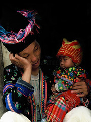 VIETNAM (BoazImages) Tags: family asian asia culture documentary vietnam southeast minority hilltribe boazimages