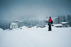 Winter View JennyO (Jen.Ostrander) Tags: snowshoe garmischpartenkirchen eckbauer snowtrails hiketrails partnachgorge