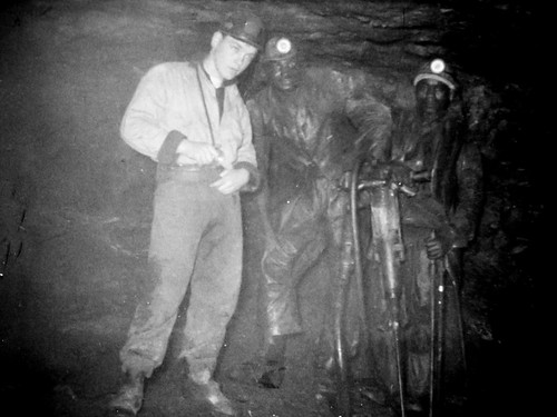 South African Miners - Undated. Probably 1954