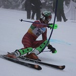 Teck Enquist Slalom, January 2012, Mt. Seymour - Sam Mulligan(WMSC) PHOTO CREDIT: Steve Fleckenstein