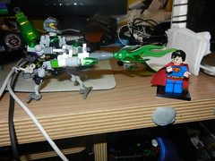 Lego Metallo with Kryptonite blaster (Antman_c) Tags: superman metallo legocustomminifigs