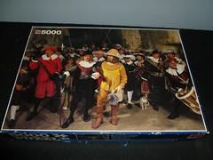 5000 piece puzzle, Nightwatch Alive, by Jumbo. (Billsville Mike) Tags: jigsawpuzzles 3000400050006000800090001200013200educanathanfalconclementoniravensburgerschmidtfxschmid