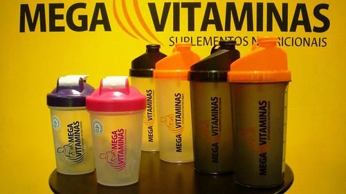 Novas coqueteleiras Mega Vitaminas