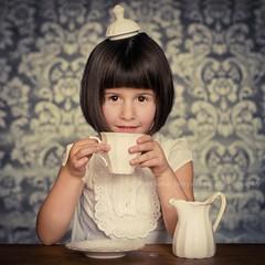 Her little Majes-tea (Svetlana Bekyarova) Tags: china cup milk child tea explore getty porcelain bonechina abigfave artlibres samyang3514