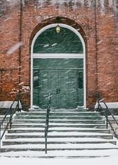 Another Winter Storm (scottmccracken) Tags: winter snow storm burlington downtown vermont newengland btv
