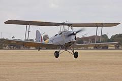 Tiger Moth A17-561 (joolsgriff) Tags: australia tigermoth raaf dehavilland pointcook dh82 a17561 vhljm
