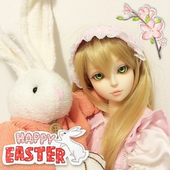 Happy Easter 2014 (Shuga Youko) Tags: world dress lolita wig bjd volks abjd msd dreamofdoll beea leeke