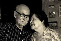 Love going strong (Carlos A. Aviles) Tags: love parents couple pareja amor marriage elderly padres viejo matrimonio compromiso comitment envejeciente