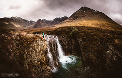 Highland Flow (Steffen Walther) Tags: uk travel mountains skye clouds trekking river landscape scotland highlands stream outdoor fairy marsh fabulous cuillins hebrides reise schottland glenbrittle 2016 canon1740l fairypools canon5dmarkiii steffenwalther blackcuilliins