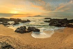Foggy Morning (Fausto Orli) Tags: vacation sun seascape building praia beach fog sunrise sand rocks waves foggy frias paisagem santacatarina cambori balneriocambori praiadosamores faustorosa