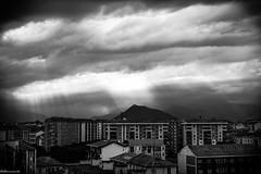 LightOnTheCity (Monumento) Tags: life city light sky urban bw italy cloud white black skyline clouds torino lights town scenario turin ltalia