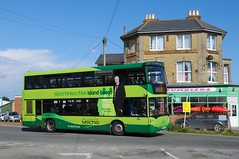 1117 (HW58 ATU) - Shanklin (GreenHoover) Tags: isleofwight shanklin iow 1117 southernvectis service3 scaniaomnicity hw58atu