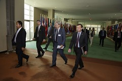 Foreign Minister Gentiloni at the UN in New York (Mission of Italy to the UN) Tags: italy newyork unitednations paologentiloni