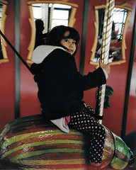 Eden on a Bug (edenpictures) Tags: bug insect beetle carousel eden merrygoround