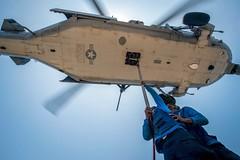 160506-N-EH218-161 (Commander, U.S. 7th Fleet) Tags: ocean usa pacific mob pacificocean cruiser underway deployment 2016 ussmobilebay cg53 7thfleet
