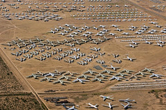 Area 24 & 26 - Aerospace Maintenance and Regeneration Group (AMARG) - Davis-Monthan AFB, AZ (David Skeggs) Tags: tucson aircraft military aeroplane usaf boneyard usairforce davismonthan amarc overflight masdc amarg davidskeggs
