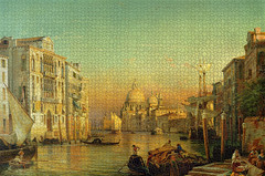 Friedrich Nerly the Elder: Grand Canal, Venice (_Furetto_) Tags: venice painting puzzle 3000 grandcanal friedrich ravensburger nerlich nerly