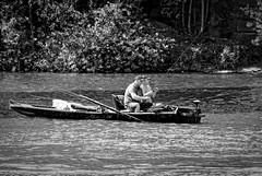Two fishermen - Canon FD 400mm f4,5 S.S.C. (petrwag) Tags: street blackandwhite bw blancoynegro blackwhite czech canonfd ernobl clickcamera