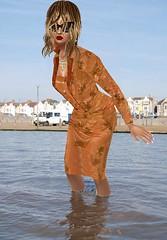 goldSuit (SoakinJo) Tags: wetsuit wetlook wetclothes wetstockings