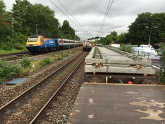 43066 (Sam Tait) Tags: class 43066 43 inter city hst possesion relay trm track replacement machine