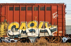 CASH4 (Rob Swatski) Tags: street railroad streetart art car bench graffiti nikon paint grafitti pennsylvania tag graf 4 rail trains cash pa railcar spraypaint boxcar rap graff railways railfan freight smells freighttrain freights rollingstock fr8 d40 benching nikond40 freighttraingraffiti swatski cash4 rapgang cashiv