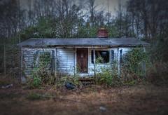 Abandoned House - v4 (hoovdaddy) Tags: canon20d northcarolina abandonedhouse hdr unioncounty rundownhouse photomatix topazdenoise topazlenseffects brycehoover 3clixpix