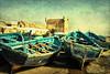 Azules como el mar (osolev) Tags: ocean africa port boats puerto harbour atlantic morocco maroc barcas marruecos essaouira textured atlantico mogador atlantique embarcaciones ltytr1 esauira osolev magicunicornverybest magicunicornmasterpiece