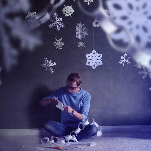 One Man Snowflake Factory