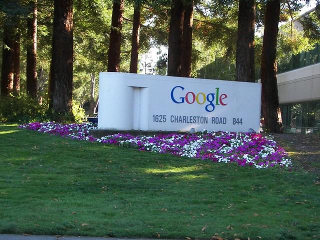 Google Campus Sign