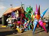 Christmas star 01 / Astro navideño 01 (ix 2017) Tags: street méxico calle df december market fiestas mercado jamaica multicolor diciembre piñata posadas piñatas israfel67 mercadodejamaica