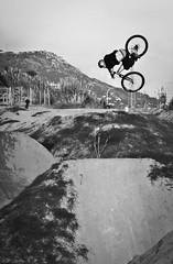 Andreu Lacondeguy (CRB Photography) Tags: friends mountain black bike rock photography photo freestyle punk kill bikes style 360 hills tricks dirt heavy swag redbull dirtjump poma nosedive lapoma lacondeguy