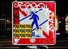 (J.F.C.) Tags: japan tom graffiti tokyo bs want poke same msk bbb wanto nakameguro dms ftl 246 resq sayme gkq