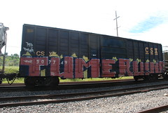 Tume Ruiner (huntingtherare) Tags: train bench graffiti freight ruiner rollingstock tume benching