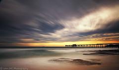Bay of fury (John JHL Photography) Tags: seascape storm sunrise john bay hill australia catherine nsw jhl