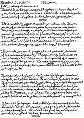 writing exercise creative free fountainpen